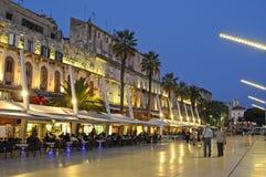 Riva waterfront, Split, Croatia royalty free stock image
