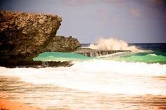 Rivage-Aruba du nord Image stock