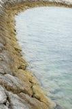 Rivage côtier Photographie stock libre de droits
