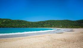 Rivage Culebra Puerto Rico de bord de la mer de plage de flamenco photographie stock libre de droits