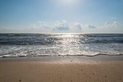 Rivage de baie de Delaware Photos libres de droits