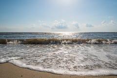 Rivage de baie de Delaware Image libre de droits