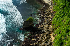 Rivage de Balinese Photographie stock