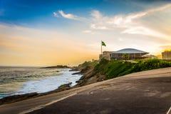 Rivage de Copacabana de fort Image libre de droits