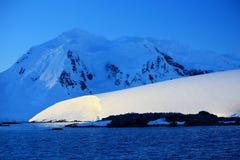 Rivage de l'Antarctique Images libres de droits