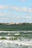Rivage de la baie du port Philip Photographie stock