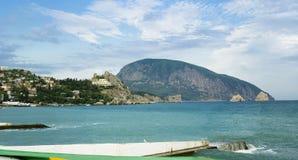 Rivage de la Mer Noire Image libre de droits