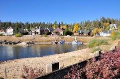 Rivage de lac big Bear Photo libre de droits