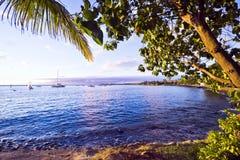 Rivage de Lahaina, Maui Images libres de droits