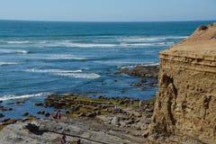Rivage de marée Photo libre de droits