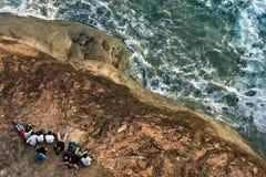 rivage de mer Images libres de droits