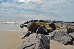 Rivage de mer Photographie stock libre de droits