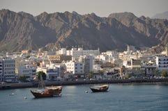 Rivage de Muscat Oman images libres de droits