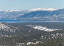 Rivage de sud, le lac Tahoe Images stock