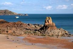 Rivage du Jersey Photo libre de droits