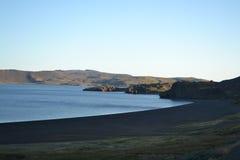 Rivage du lac Photos libres de droits