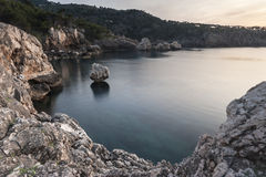Rivage du nord de Majorca Photo libre de droits
