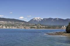 Rivage du nord de Vancouver Images libres de droits