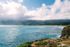 Rivage du nord Oahu photo libre de droits