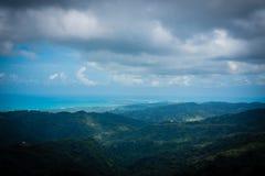 Rivage du nord, Porto Rico image stock