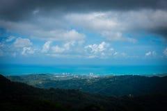 Rivage du nord, Porto Rico Photographie stock libre de droits