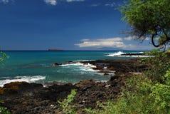 Rivage du sud de Maui Photographie stock libre de droits