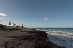 Rivage occidental, Oahu photographie stock
