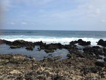 Rivage oriental d'Hawaï Image stock