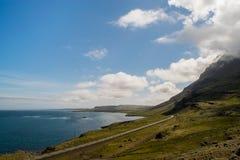 Rivage oriental, Islande photos stock