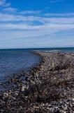 rivage pierreux Images libres de droits