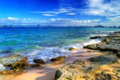 rivage rocheux Images libres de droits