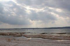Rivages de policier de lac Photos libres de droits