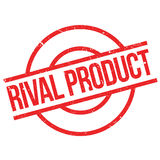 Rival Product rubber stamp. Grunge design with dust scratches. Effects can be easily removed for a clean, crisp look. Color is easily changed Royalty Free Stock Photography