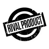 Rival Product rubber stamp. Grunge design with dust scratches. Effects can be easily removed for a clean, crisp look. Color is easily changed Stock Image