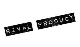 Rival Product rubber stamp. Grunge design with dust scratches. Effects can be easily removed for a clean, crisp look. Color is easily changed Royalty Free Stock Image