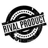 Rival Product rubber stamp. Grunge design with dust scratches. Effects can be easily removed for a clean, crisp look. Color is easily changed Royalty Free Stock Photos