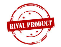 Rival product. Rubber stamp with text rival product inside,  illustration Royalty Free Stock Images