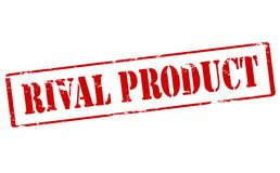 Rival product. Rubber stamp with text rival product inside,  illustration Stock Photo