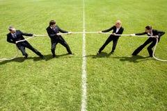 Rivalidad corporativa Foto de archivo libre de regalías