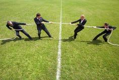 Rivalità corporativa Immagini Stock
