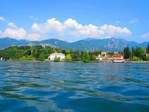 Rive del lago Como Fotografia Stock