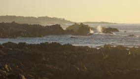 Rive di Monterey Immagini Stock