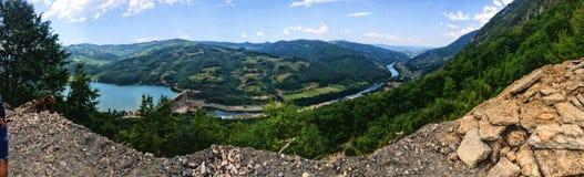 Rive Drina SERBIA Obrazy Stock
