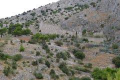 Rive rocciose di Brac Immagini Stock Libere da Diritti