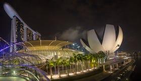 Rive Singapour Photos stock