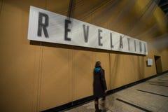 Rivelazione - arte moderna a Sydney, Australia Fotografia Stock