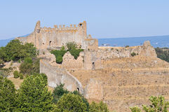 Rivellino castle. Tuscania. Lazio. Italy. Royalty Free Stock Images