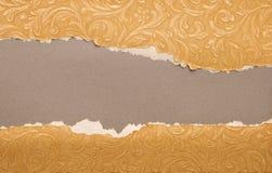 riven gammal paper textur Fotografering för Bildbyråer
