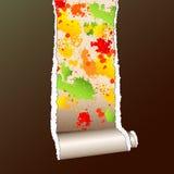riven sönder wallpaper Arkivbilder