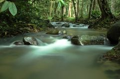 River. Congkak river in Hulu Langat, Malaysia Royalty Free Stock Photo